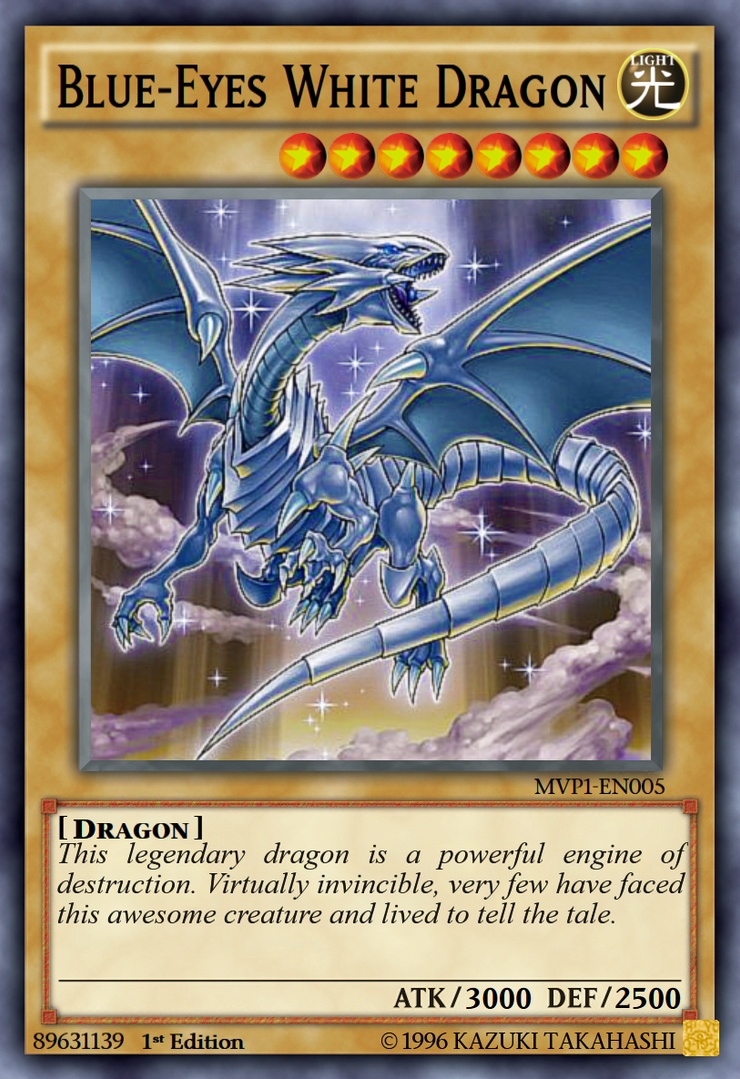 Blue-Eyes White Dragon by blader999 on DeviantArt