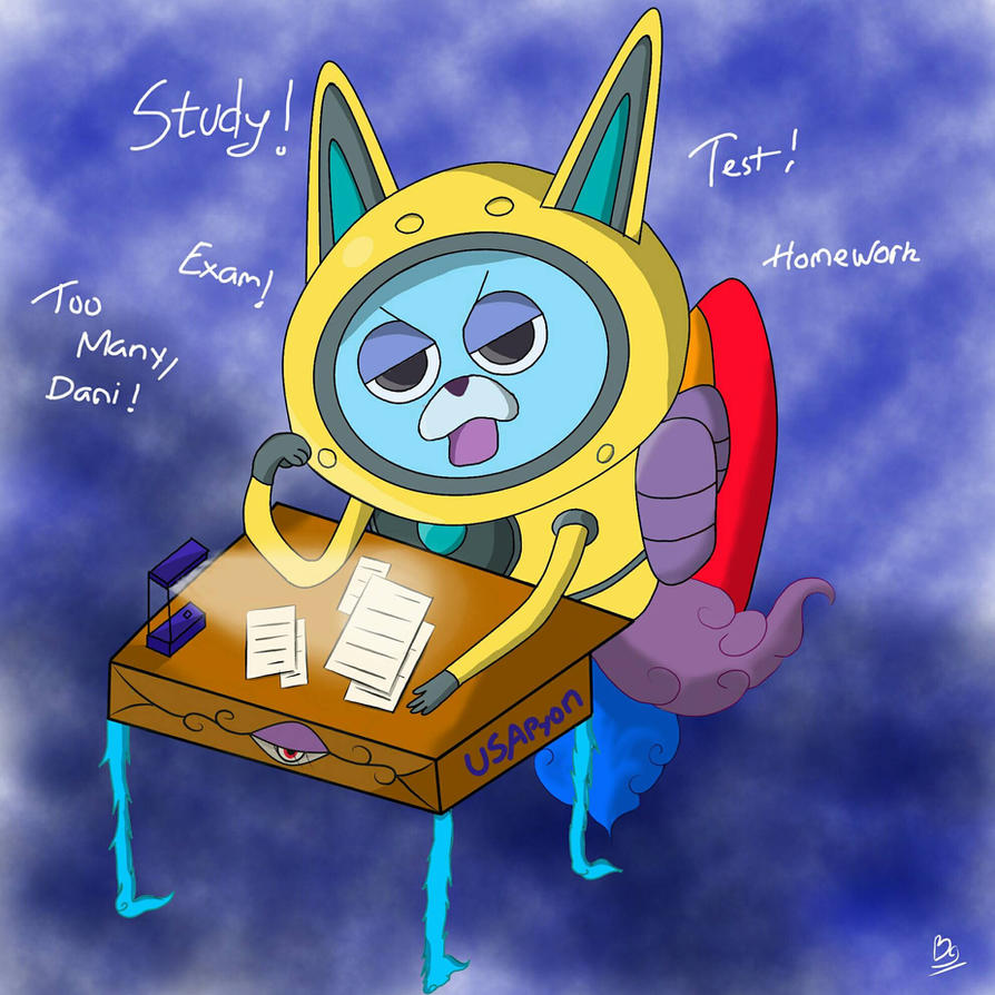 Study Hard, USApyon by blader999