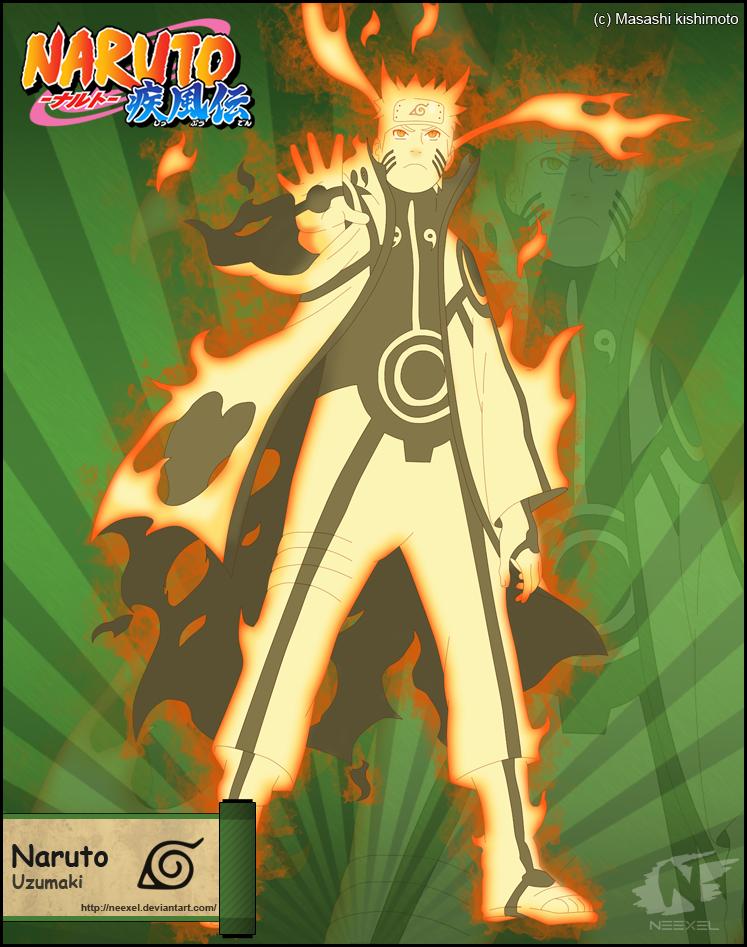 Naruto Bijuu mode by neexel on DeviantArt