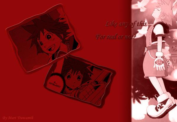 Sora's Wallpaper 2 by Amai-Namine