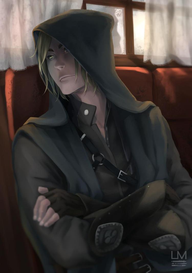 Mysterious Spoiler Character :D by Lina-Mariko