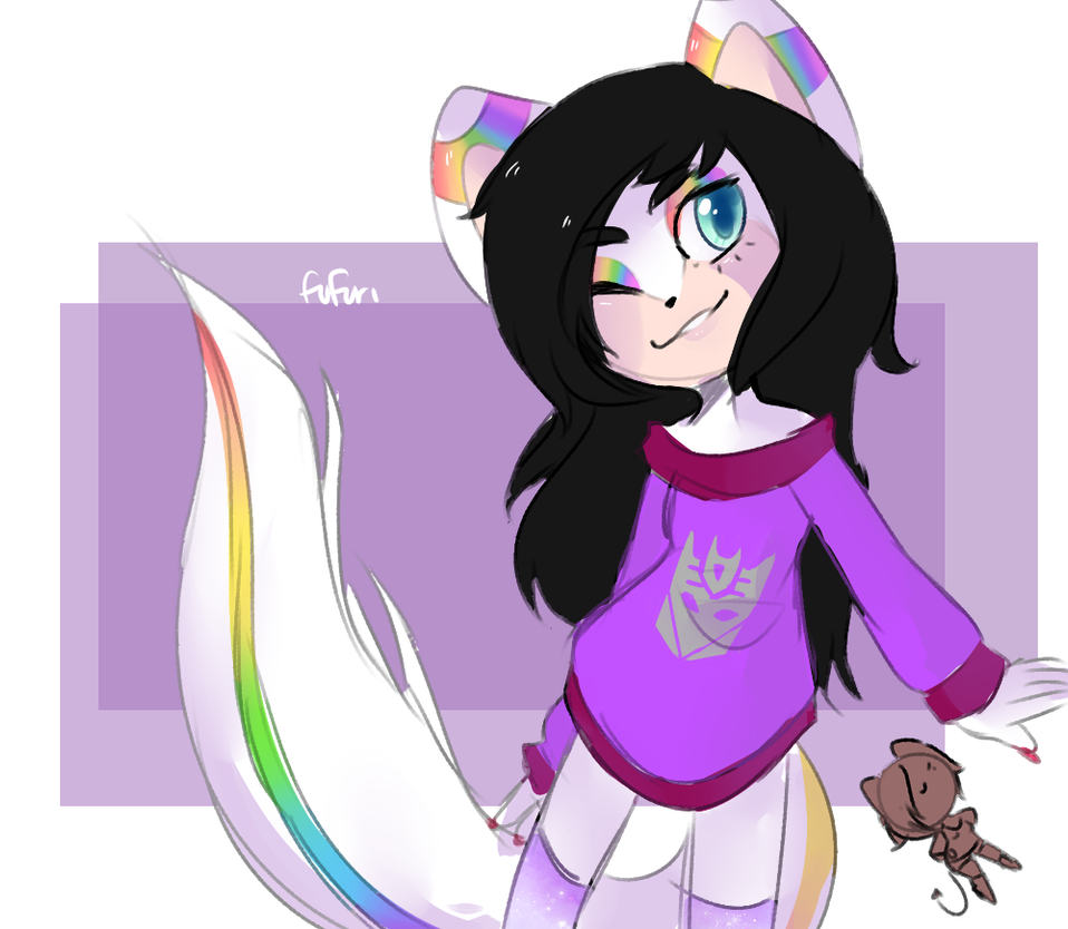 Rainbows and a marker by Fufuri