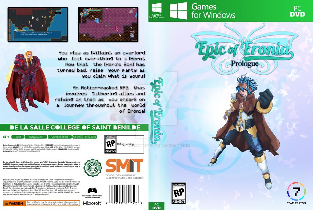 Epic Of Eronia DVD Cover by HyomaTanzaki