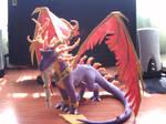 Purple Dragon Spyro Master