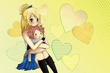 natsu x lucy Fairy Tail by claresakura09