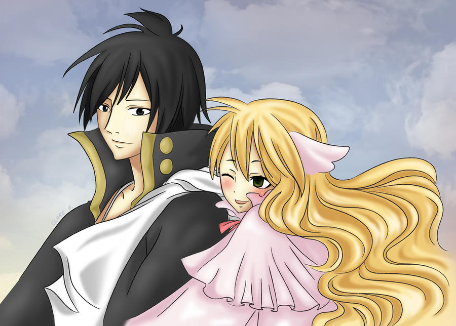 Fairy Tail: Mavis x Zeref by claresakura09