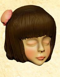 Zbrush Test1 (Female Character) by claresakura09
