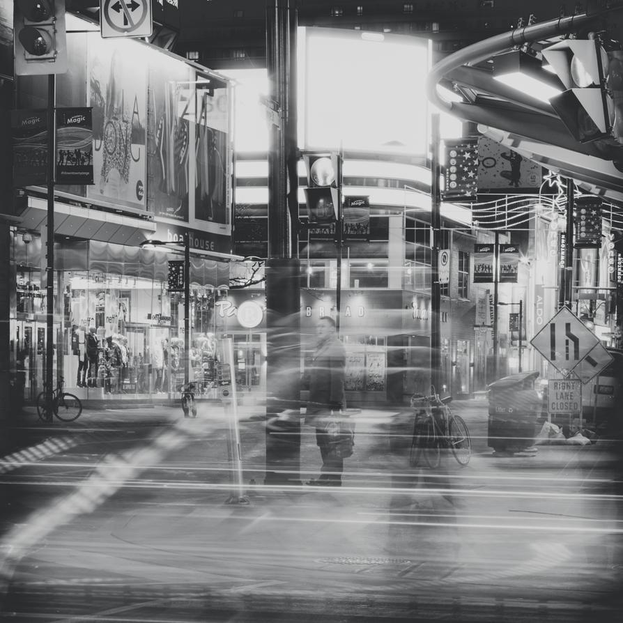 Night Street - 2 by studpup
