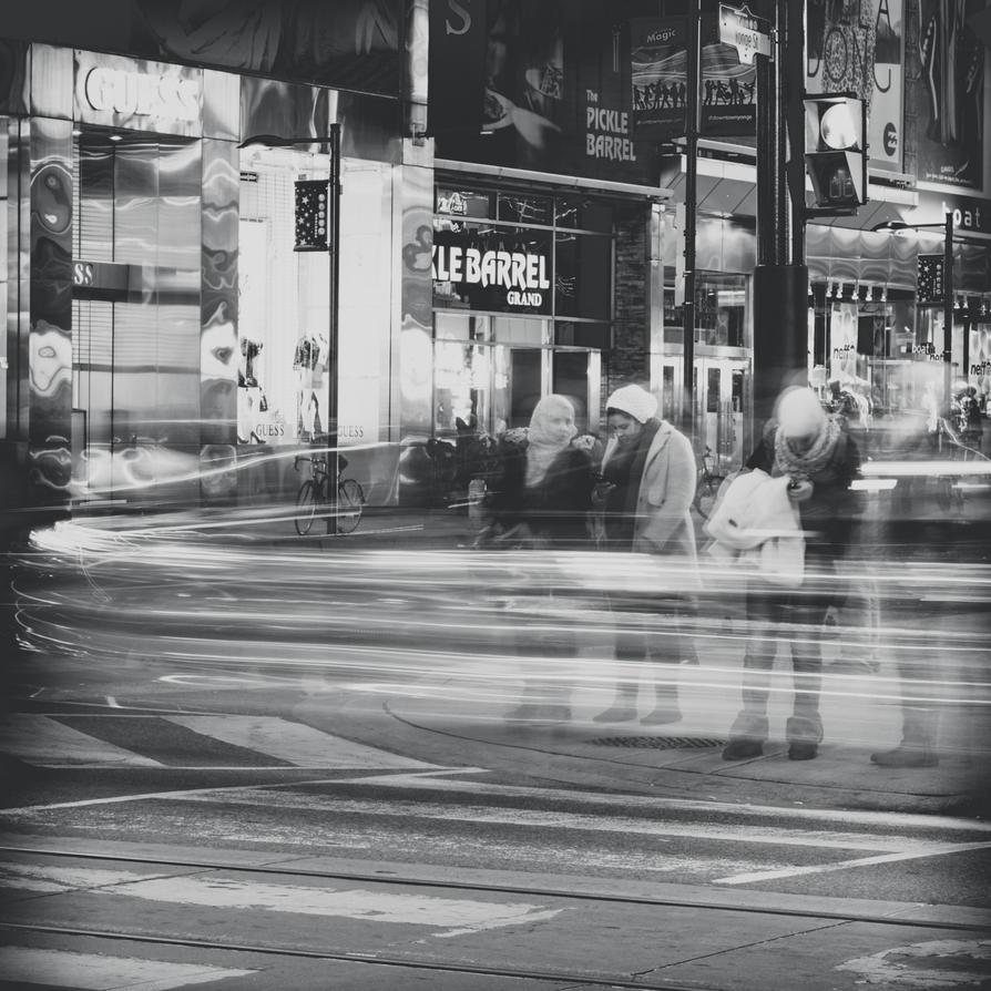 Night Street - 3 by studpup
