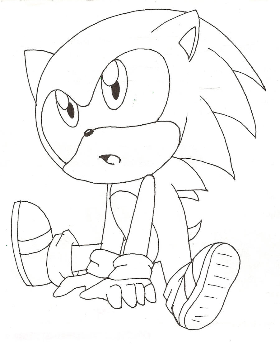 Cute Baby Sonic By Rei Catlang On Deviantart