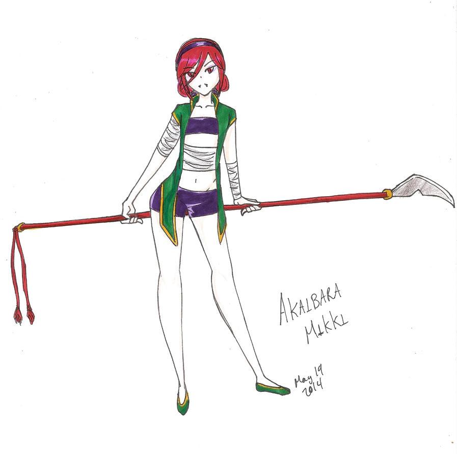 Mikki Akaibara by Rei-Catlang