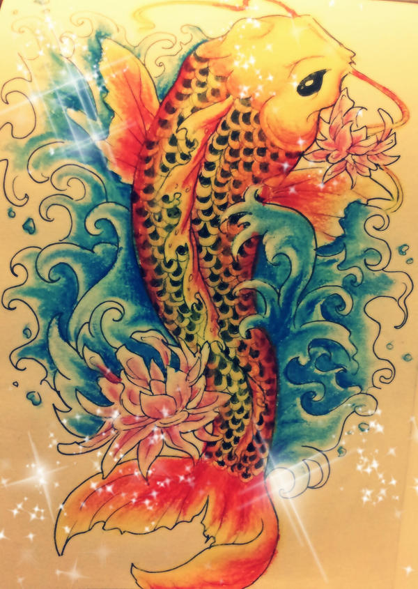 Koi fish tattoo com by iridescentfaerie on deviantart for Koi fish net