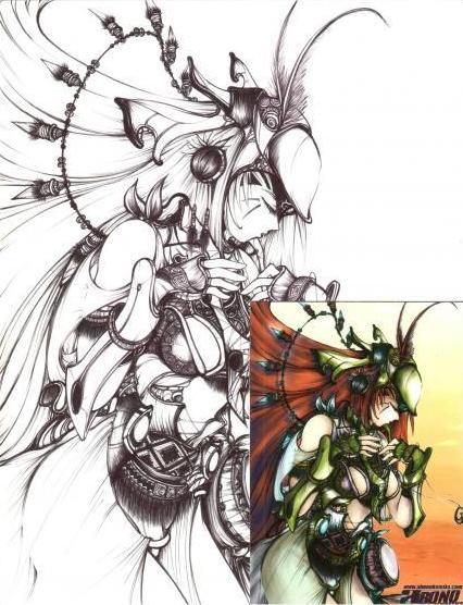 fertility goddess by taga-masid