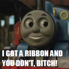 Thomas: Ribbon, Bitch by TheSuigi