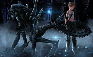 Alien: Covenant by S0mniaLuc1d0