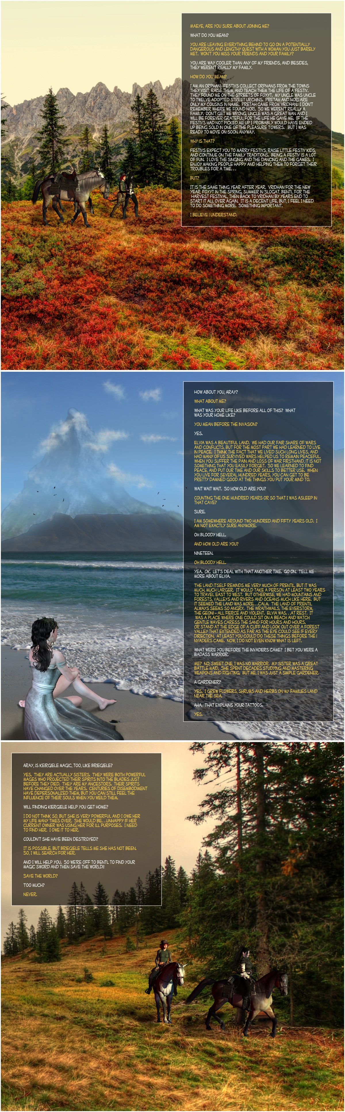 The Great Isle of Prentil, Bk1, Ch4, Pg2 by PrentilStudios