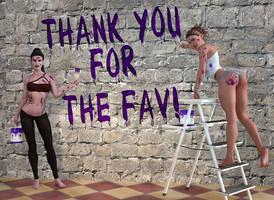 Thank You Fav 8 by PrentilStudios