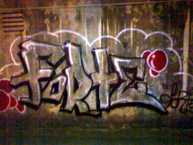 forte throw-up by domonizo