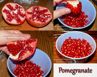 Pomegranate - Food of the Gods by AngelOfDarkness089