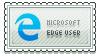 Microsoft Edge User Stamp by hercamiam