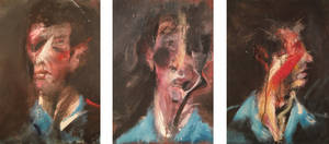 Three Studies for a Self Portrait