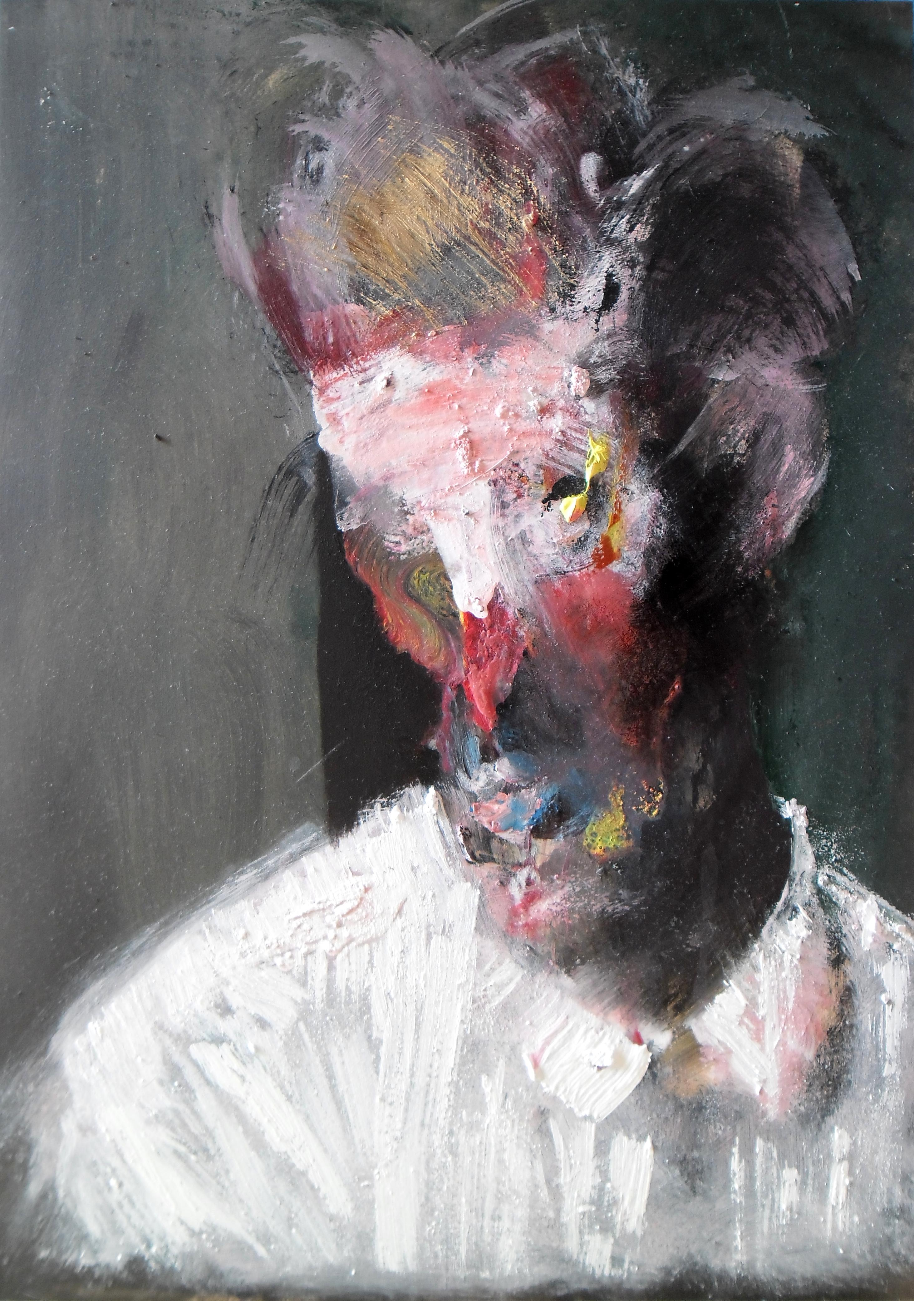 Study for Portrait of Egon Schiele by RyckRudd
