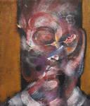 Study for Portrait of Egon Schiele on Ochre
