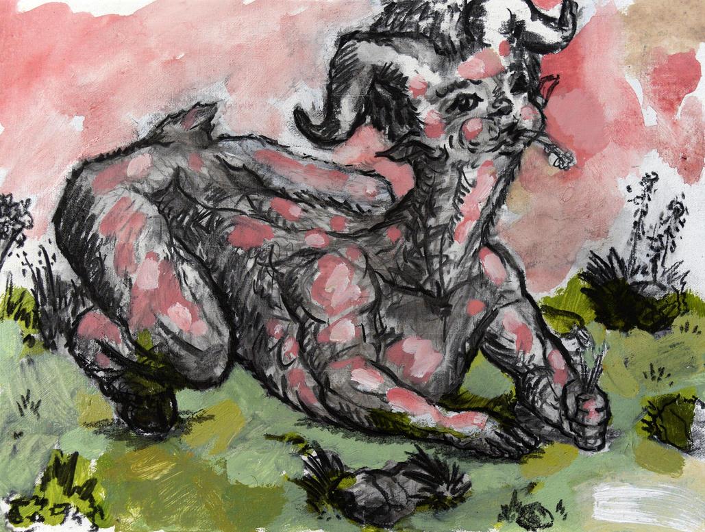 Munching Grass by RyckRudd
