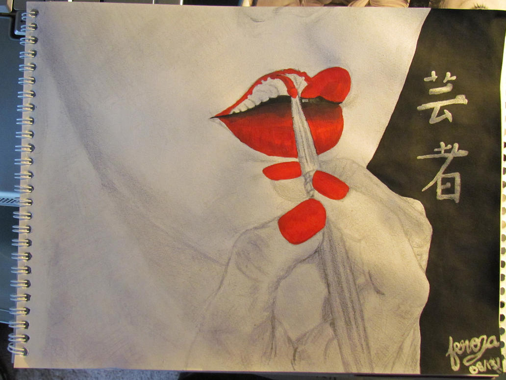 Geisha Lips by MissFero