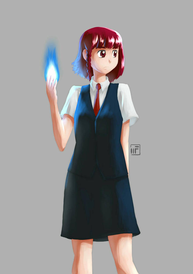 201612-02 Random School Girl by mechaFROG