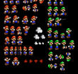 Paper Mario and Luigi Sprites by TehMR21