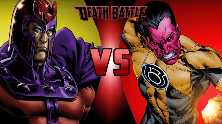 Magneto VS Sinestro by NocturnBros