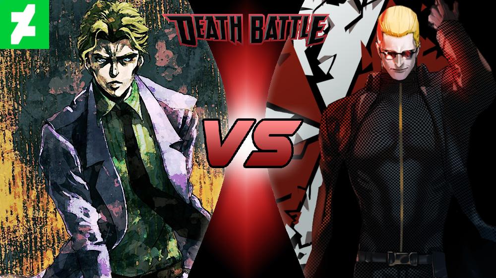 0e604bda108 Yoshikage Kira VS Albert Wesker - DEATH BATTLE! by NocturnBros on ...
