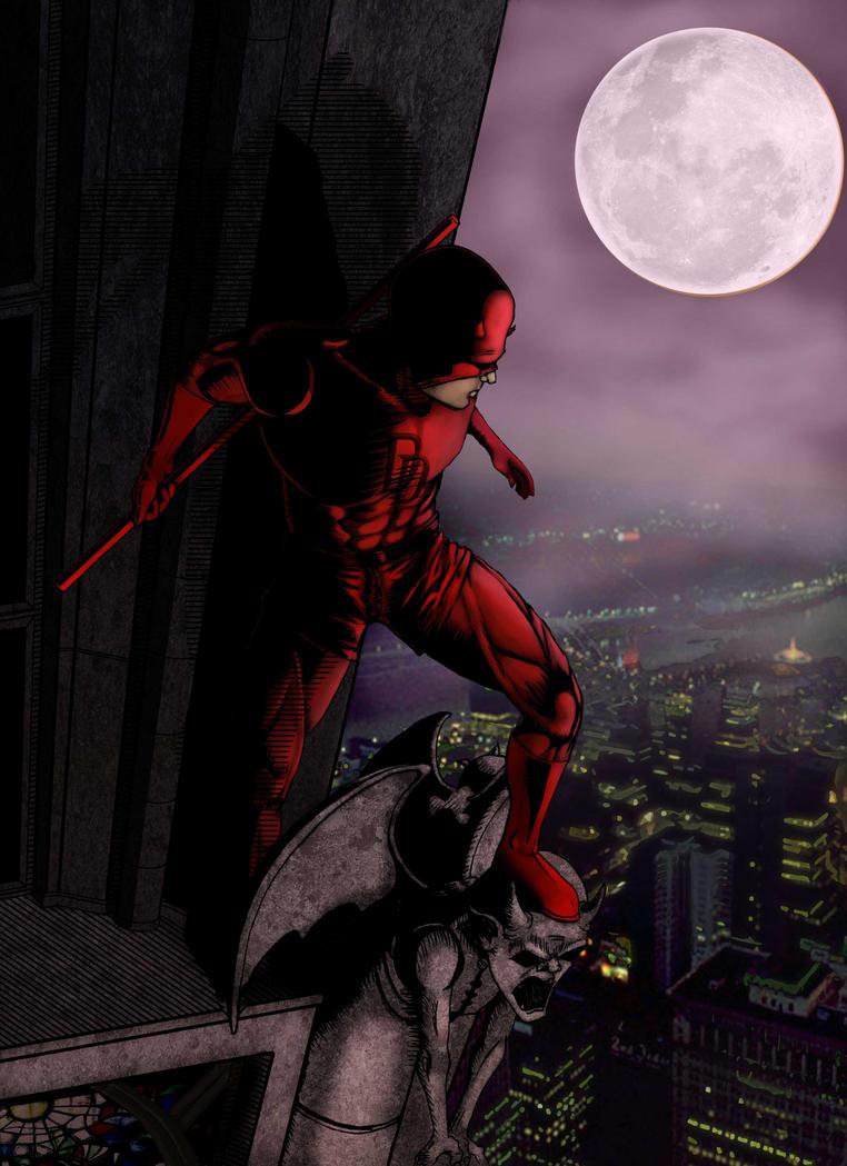 Daredevil version 03 by WyZper
