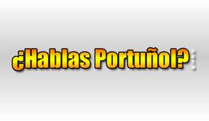 Hablas Portunol