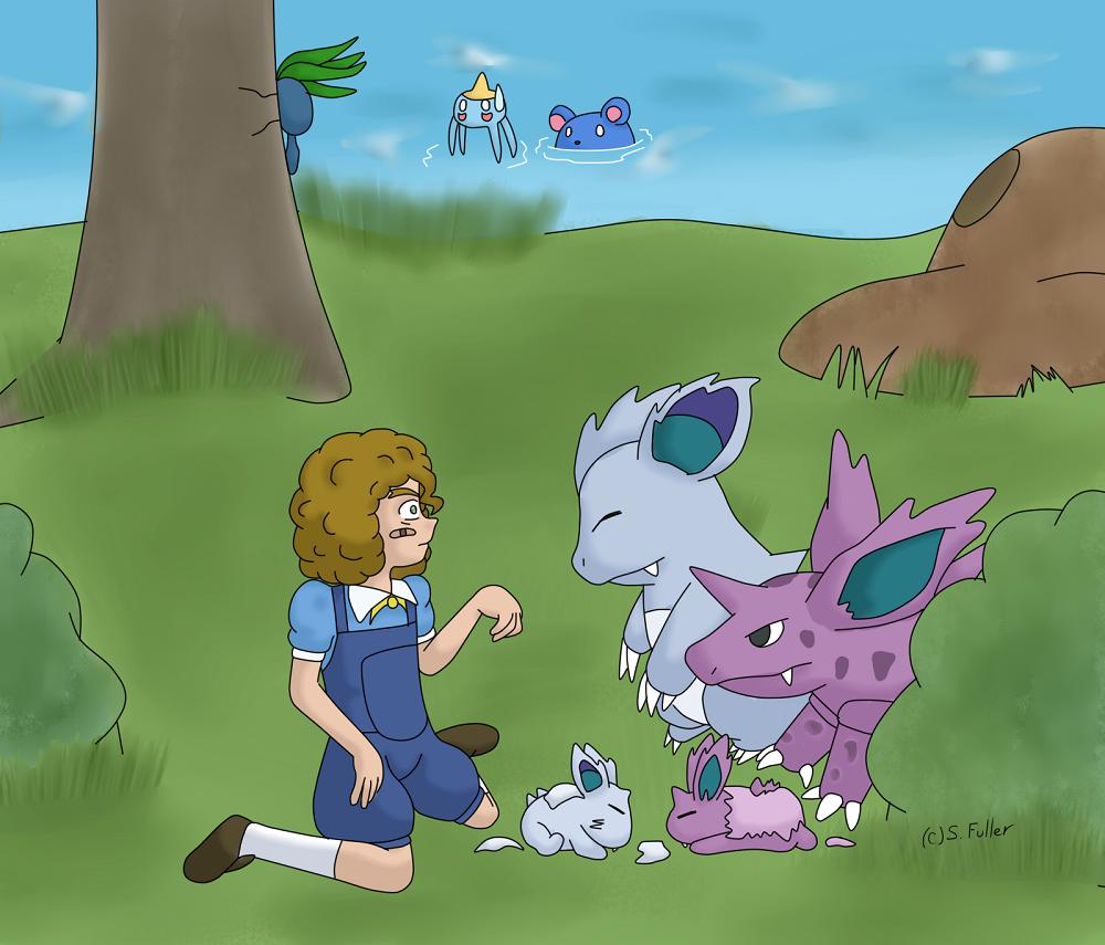 Pokemon 031 032 Nidorino Nidorina 506502486