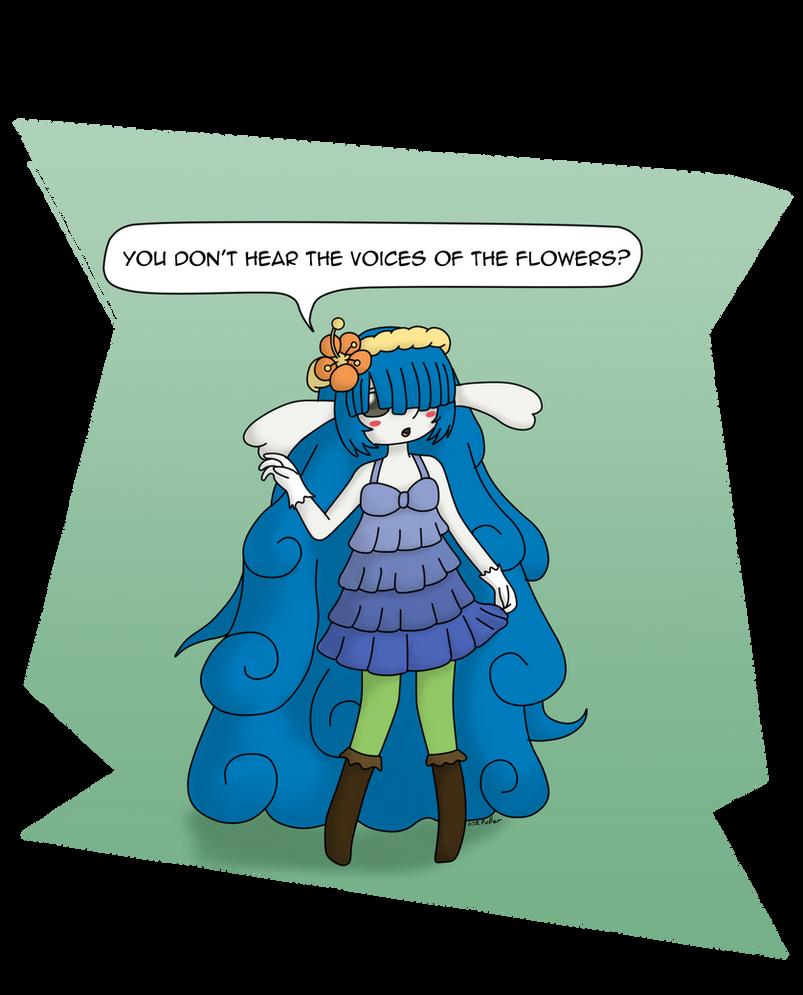 Fairy Flowers by Usa-Ritsu