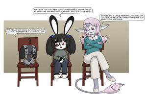 Waiting Room Conversation by UsaRitsu