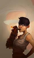 Furiosa needs a Cigar by Ellemnian