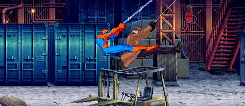 spiderman-rorschach crossover