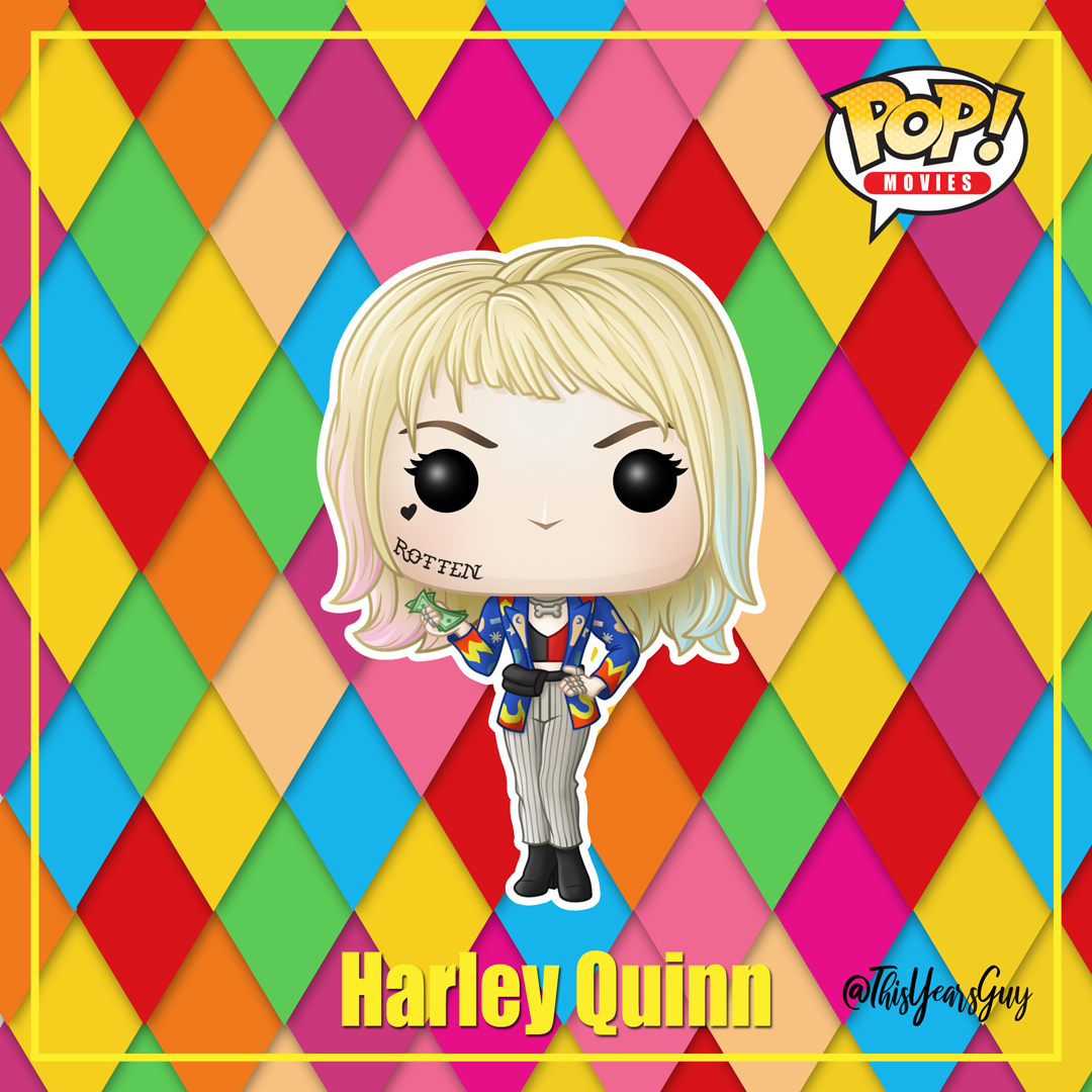 Funko Pop Birds Of Prey Harley Quinn By Thisyearsguy On Deviantart