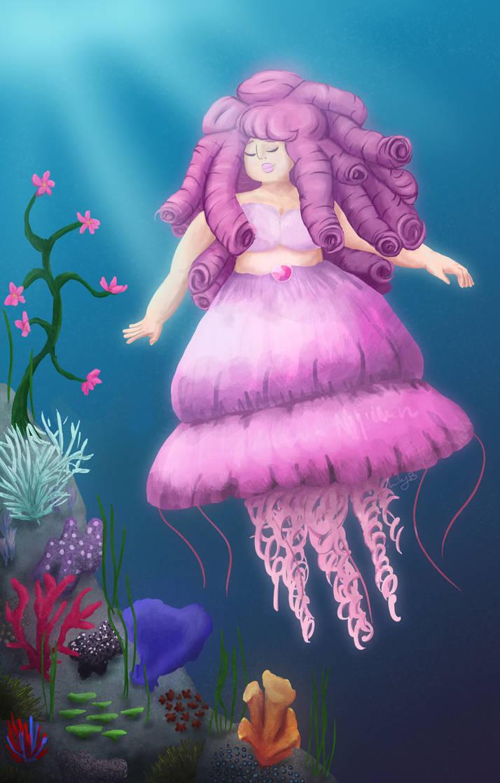 Ocean Garden by WaterLily-Gems