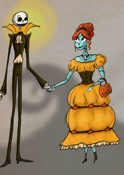 Jack and Sally outfits