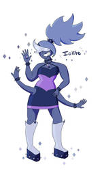 Redesigned Fusion - Iolite by WaterLily-Gems