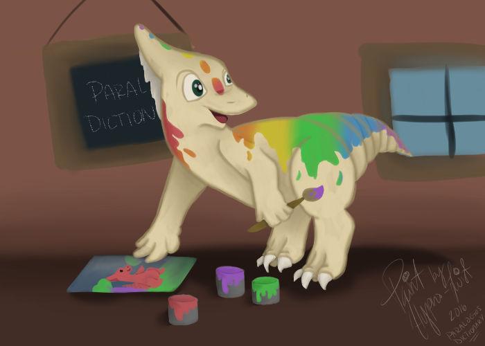 Paint - Paralogos DTA by Hallu-cinate