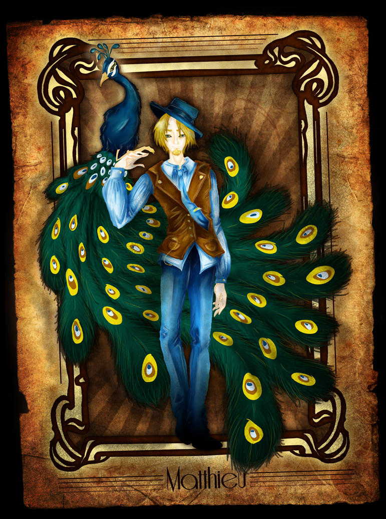 Peaccock fantasy by ProcneA