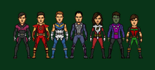 Legion of Superheroes by Naps137