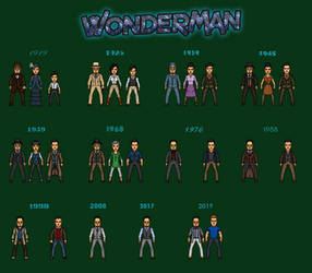 Wonder Man and his Family by Naps137