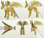 Papercraft - Pegasusmon