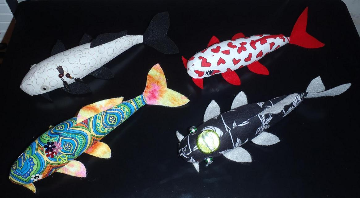 Koi plushies by jyxxie on deviantart for Dragon koi for sale
